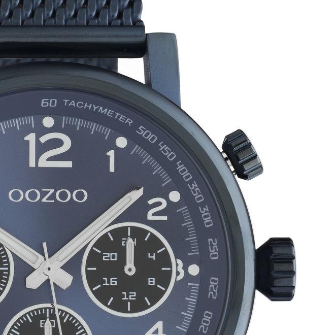 OOZOO Timepieces - unisexe - en mesh bleu