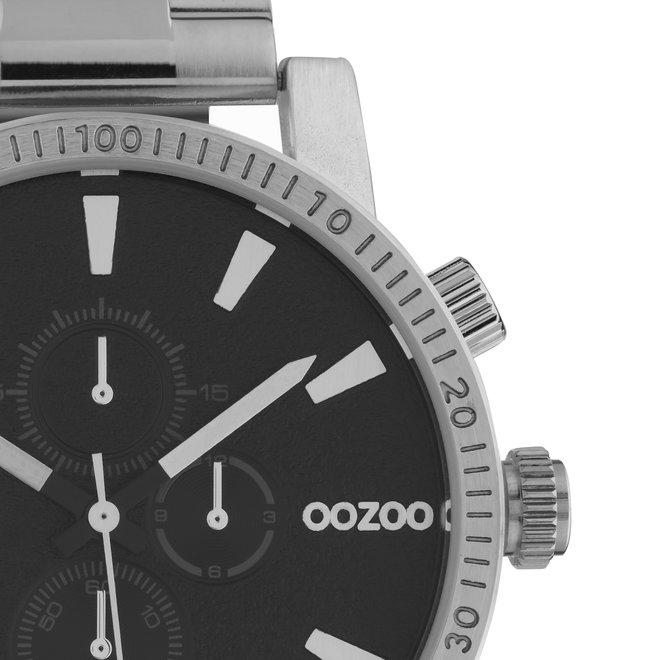 OOZOO Timepieces - unisexe - en mesh argent