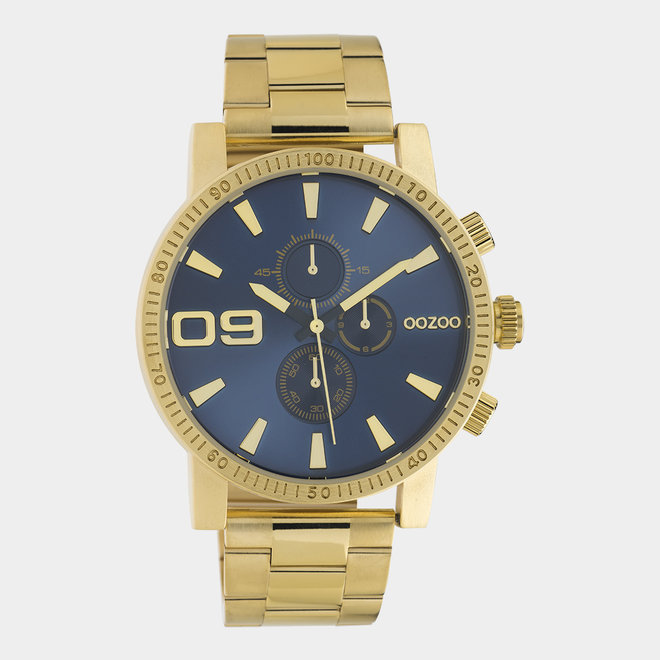 OOZOO Timepieces - unisexe - en mesh or