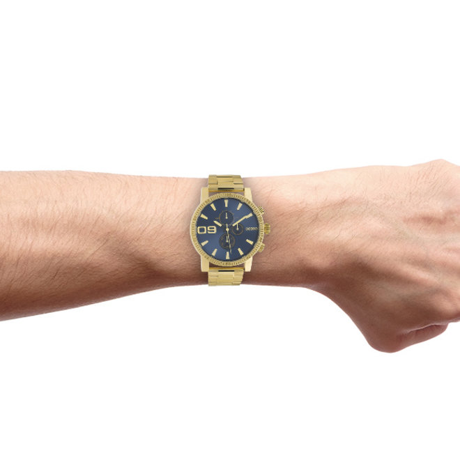 OOZOO Timepieces - unisex - metal bracelet gold with gold