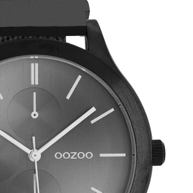 OOZOO Timepieces - unisex - metal mesh black with black
