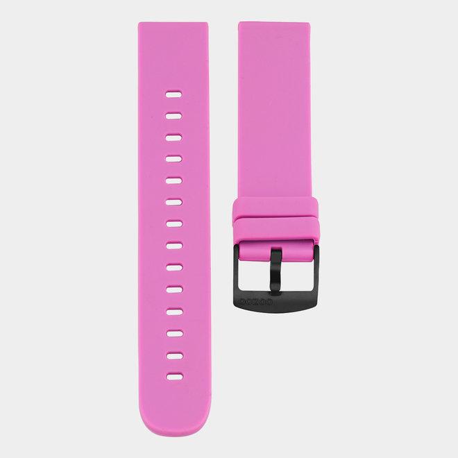 OOZOO Smartwatches - unisex - rubber horlogeband fel roze