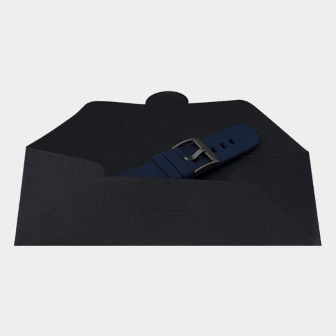 OOZOO Smartwatches - unisex - rubber bracelet dark blue