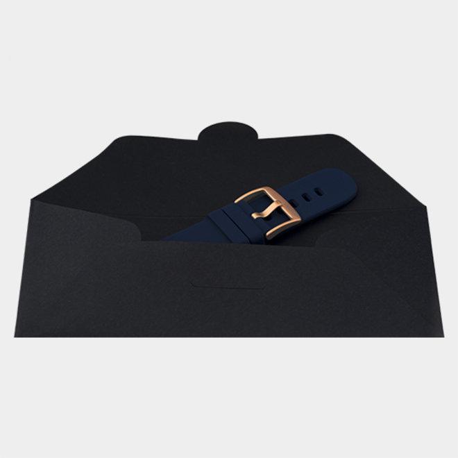 OOZOO Smartwatches - unisex - rubber horlogeband donkerblauw