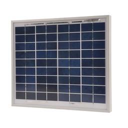 Gallagher Polykristallines Solarpanel 10 Watt mit 2A Regler