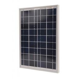 Gallagher Polykristallines Solarpanel 20 Watt mit 2A Regler
