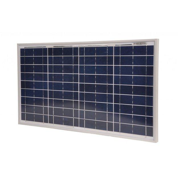 Gallagher  Gallagher Polykristallines Solarmodul 30 Watt mit 10A Regler