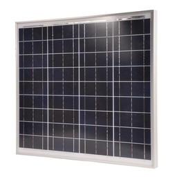 Gallagher Polykristallines Solarpanel 50 Watt mit 10A Regler