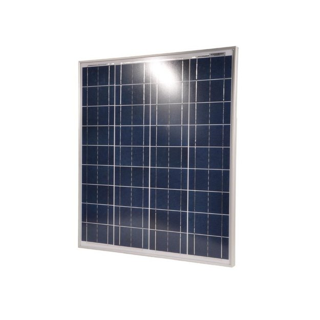 Gallagher  Gallagher Polykristallines Solarmodul 60 Watt mit 10A Regler