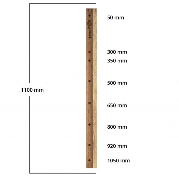 Gallagher  Gallagher Holzlatte Insultimber - 1,10 m (1 Stck.)