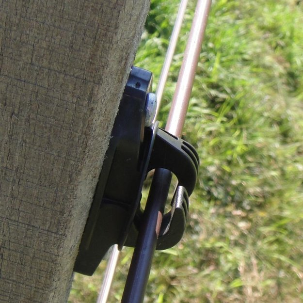 Gallagher  25x Gallagher W-Isolator für Cord/EquiFence - schwarz