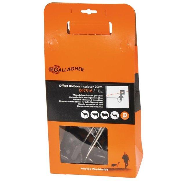 Gallagher  10x Gallagher Abstand-Isolator Metall-/Betonpfähle