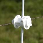 Gallagher  10x Gallagher Schraubisolator Ø 6-16 mm weiß