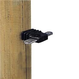 4x Gallagher Torgriff-Isolator 2-fach + Verbinder
