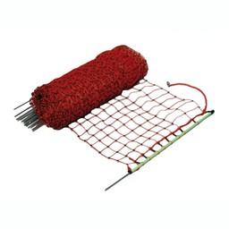 Gallagher Kaninchennetz/Kaninchenzaun - 50 m / 65 cm Einzelspitze (rot)