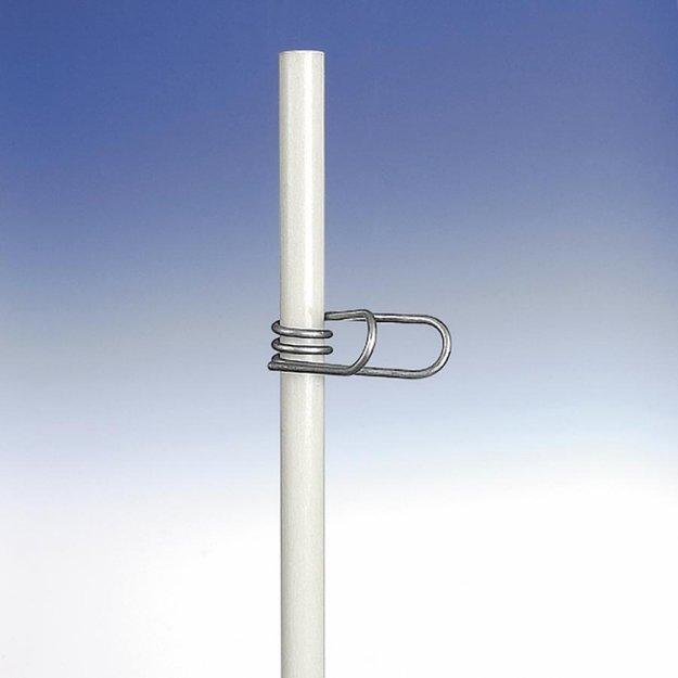 Gallagher  25x Gallagher Edelstahlclip für Glasfiberpfahl - 10 mm