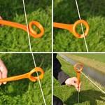 Gallagher  10x Gallagher Ring-Top Weidezaunpfahl - 1,0 m
