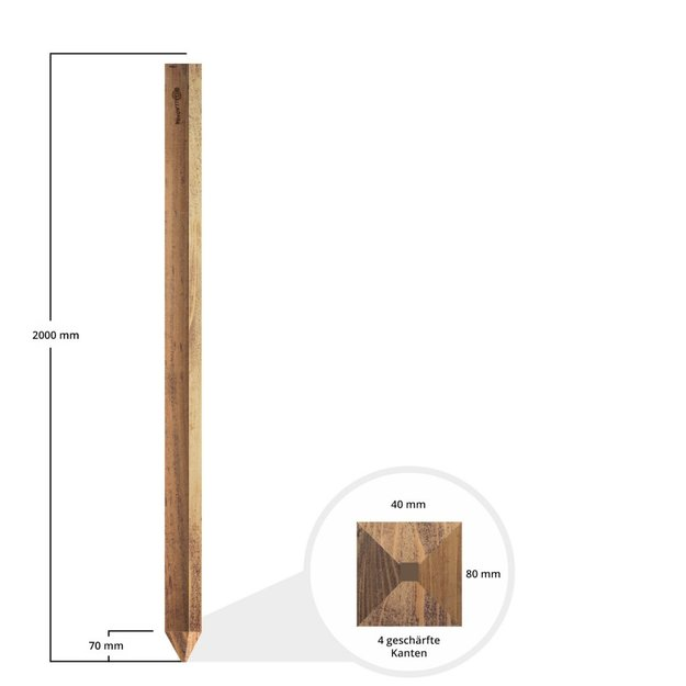 Gallagher  Gallagher Holz-Stützpfahl Insultimber - 2,0 m (1 Stck.)