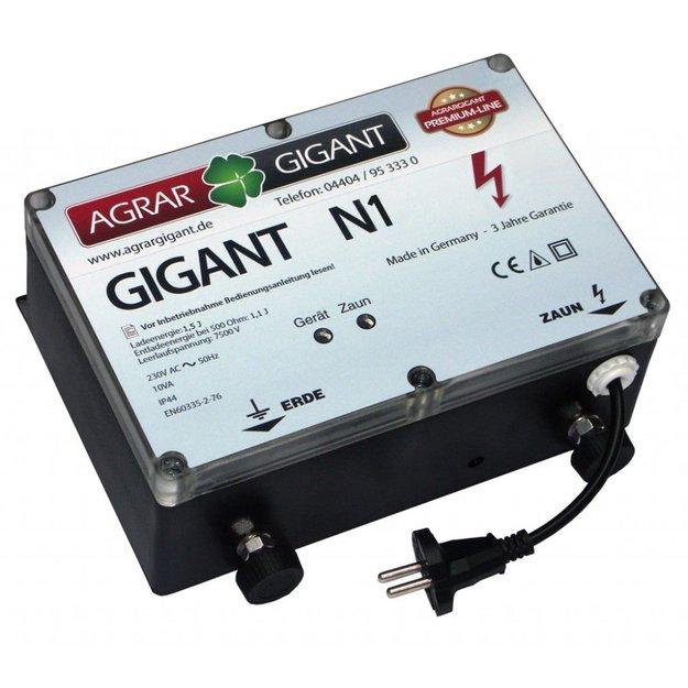 AgrarGIGANT - PRO GIGANT N1 Weidezaungerät/Netzgerät (230V)