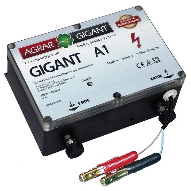 AgrarGIGANT - PRO GIGANT A1 Weidezaungerät/Akkugerät (12V)