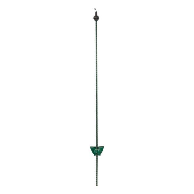 Pulsara 25x Pulsara Federstahlpfahl - 1,05 m grün