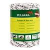 500 m/4 mm Pulsara Premium Weidezaunseil 4 Flex Cord (weiß)