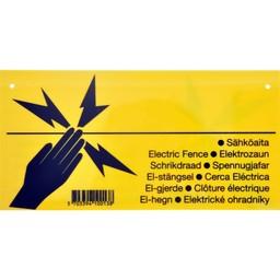 Pulsara Warnschild (Elektrozaun)