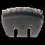 Lister Schermesser Untermesser A 56 SR