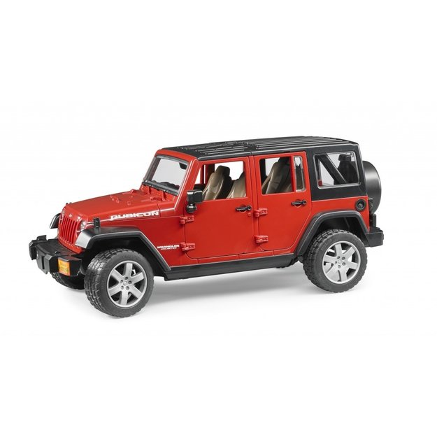 Bruder Bruder Jeep Wrangler Unlimited Rubicon 1:16