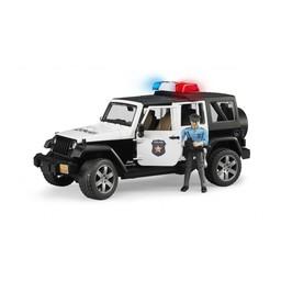 Bruder Polizeifahrzeug Jeep Wrangler Unlimited Rubicon 1:16