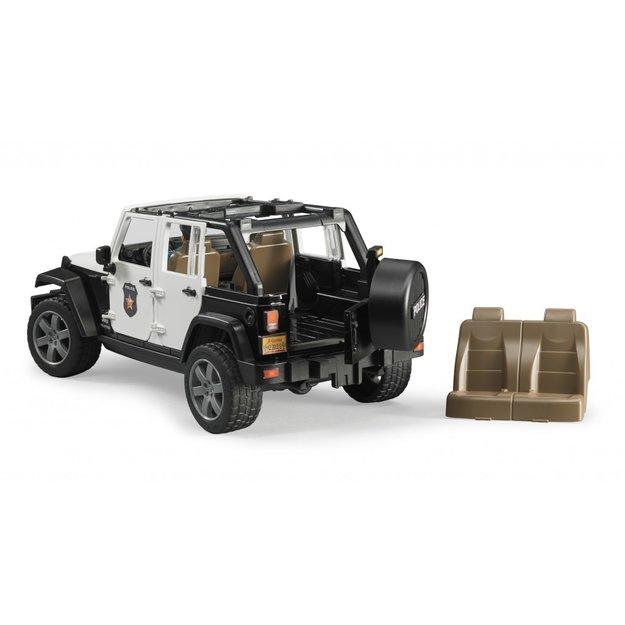 Bruder Bruder Polizeifahrzeug Jeep Wrangler Unlimited Rubicon 1:16