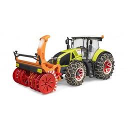 Bruder Traktor Claas Axion 950 + Winterzubehör 1:16