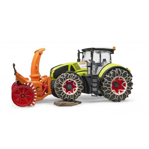 Bruder Bruder Traktor Claas Axion 950 + Winterzubehör 1:16