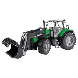 Bruder Traktor Deutz Agrotron X720 mit Frontlader 1:16