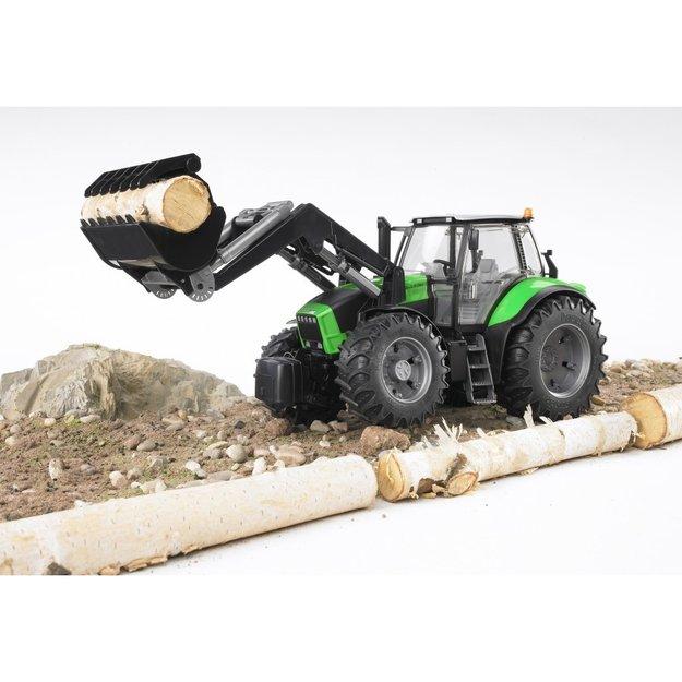 Bruder Bruder Traktor Deutz Agrotron X720 mit Frontlader 1:16