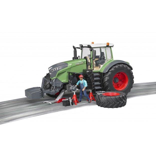 Bruder Bruder Traktor Fendt 1050 Vario 1:16 + Mechaniker & Zubehör