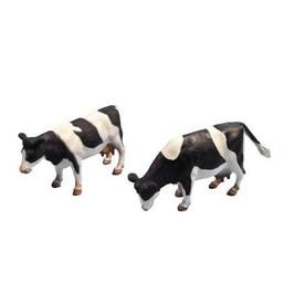 Kids Globe Kühe schwarz/weiß stehend 1:32 (2 Stck.)