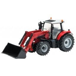 Britains Traktor Massey Ferguson 6616 mit Frontlader 1:32