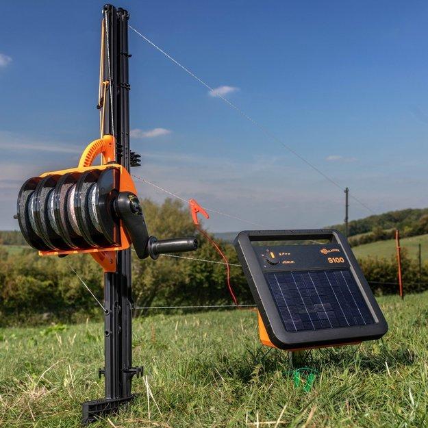 Gallagher  Gallagher Weidezaungerät/Solargerät S100 mit Akku