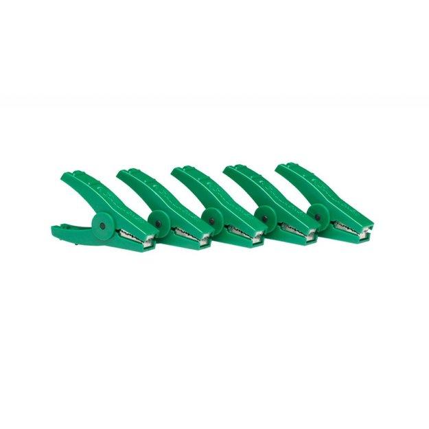 Gallagher  5x Gallagher Ersatz-Krokodilklemmen - grün