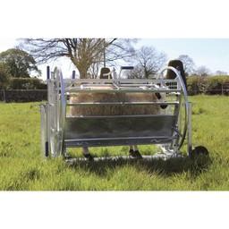 Fang- und Behandlungsstand KWIK für Schafe und Ziegen