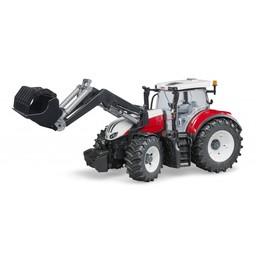 Bruder Traktor Steyr 6300 Terrus mit Frontlader 1:16