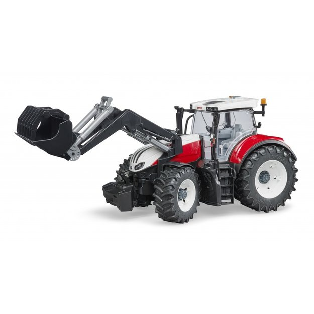 Bruder Bruder Traktor Steyr 6300 Terrus mit Frontlader 1:16