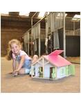 Kidsglobe Kids Globe Pferdestall mit 2 Boxen und Lager 1:24
