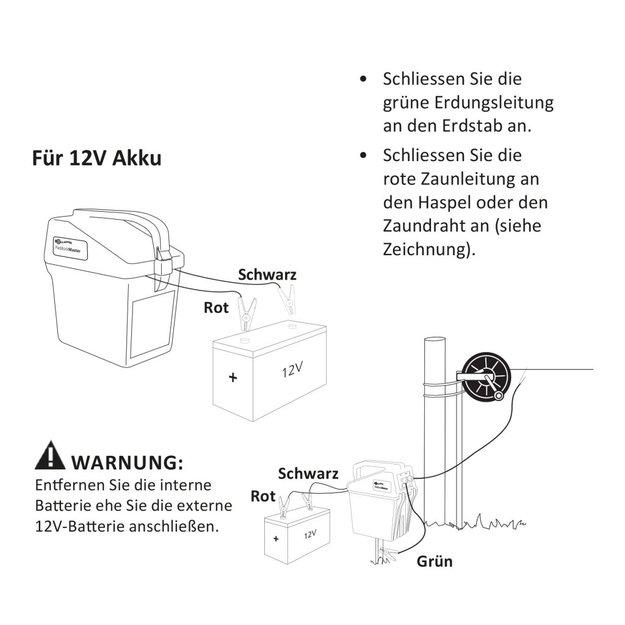 Gallagher  Gallagher Weidezaungerät/Batteriegerät BA30 (9V/12V)