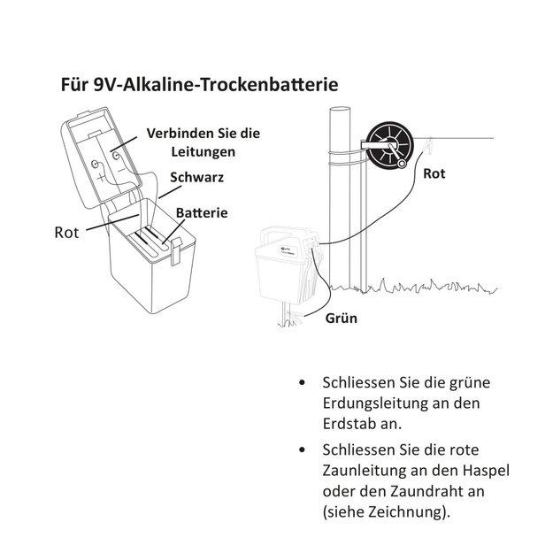 Gallagher  Gallagher Weidezaungerät/Batteriegerät BA80 (9V/12V)