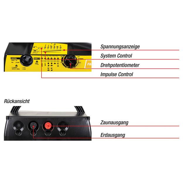 Horizont Horizont 9V/12V/230V Weidezaungerät - ranger® AN3000
