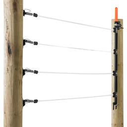 Gallagher Mehrdrähtiges Weidetor-Set - 6 m (12,5 mm Band)