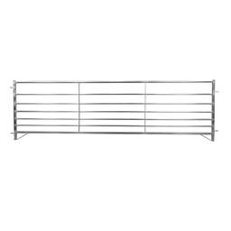 10x Aluminium-Horde/Weidepanel 300 x 90 cm