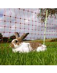 Gallagher  Gallagher Kaninchennetz/Kaninchenzaun - 50 m / 65 cm Einzelspitze (rot)